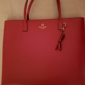 Kate Spade leather tote, NWOT